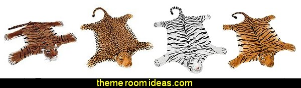 wild animal rugs  wild animal print bedroom decor  - leopard print decorating ideas- giraffe print - zebra print - cheetah bedroom decor - wild animal print decorating  - leopard print decor - leopard print walls -  tiger wall decal