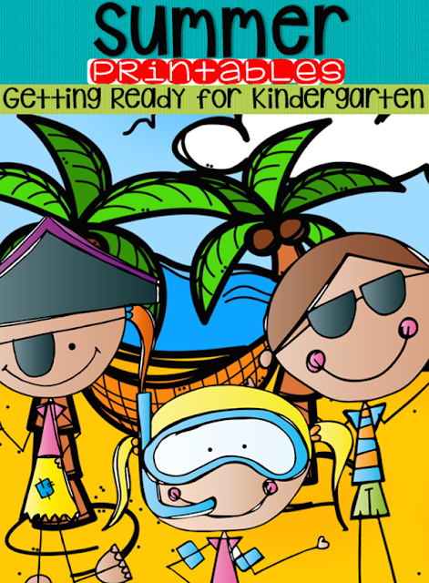 Summer Printables will help you child or students work on the skills and concepts desired at the beginning of kindergarten. Students will love the fun summer ELA and Math activities. This unit is perfect for summer school and summer themes in your kindergarten classroom. https://www.teacherspayteachers.com/Product/Summer-Printables-Getting-Ready-for-Kindergarten-Bundle-1842267.