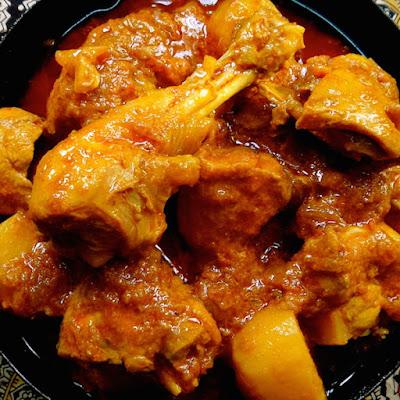 Farida Omar's chicken curry, recipe, farida omar, chicken, curry, easy, simple, authentic, beginner, guarat, gujarati, indian, south africa, nelson mandela, dullah omar,