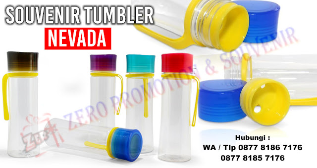Souvenir Tumbler Plastik – Nevada, Nevada Hydration Tumbler, Souvenir NEVADA Chielo