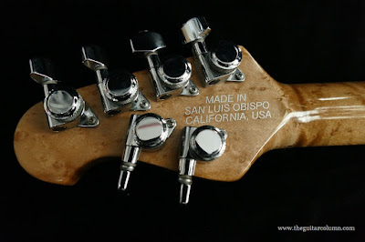 Music Man Luke refinished headstock back