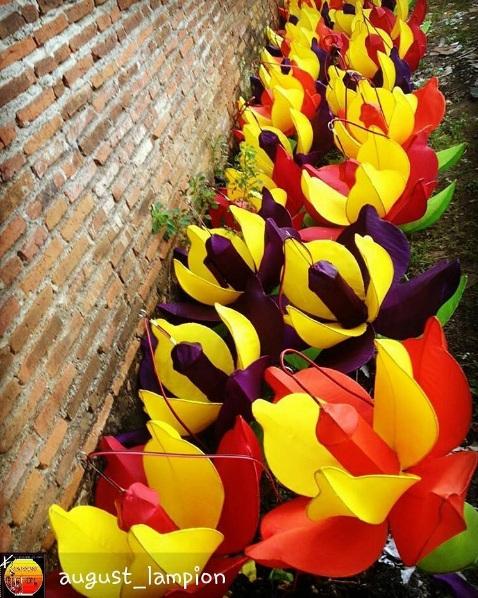 400 Bunga Teratai Pesanan Pemkot Surabaya
