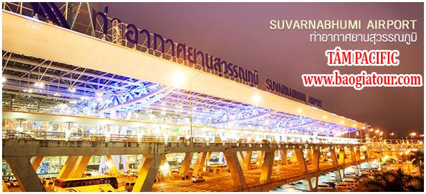 Du Lịch Thái Lan Trong Tầm Tay - Phần 3 - Cách di chuyển từ sân bay về trung tâm Bangkok