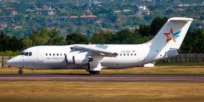 Ban Pecah, Pesawat Aviastar Tergelincir di Ilaga Kabupaten Puncak, Papua