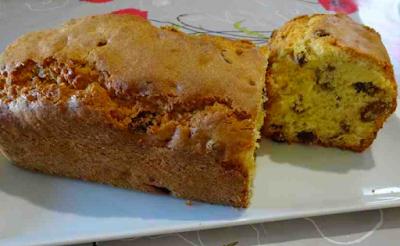 cake raisins sec rhum gâteau pâtisserie