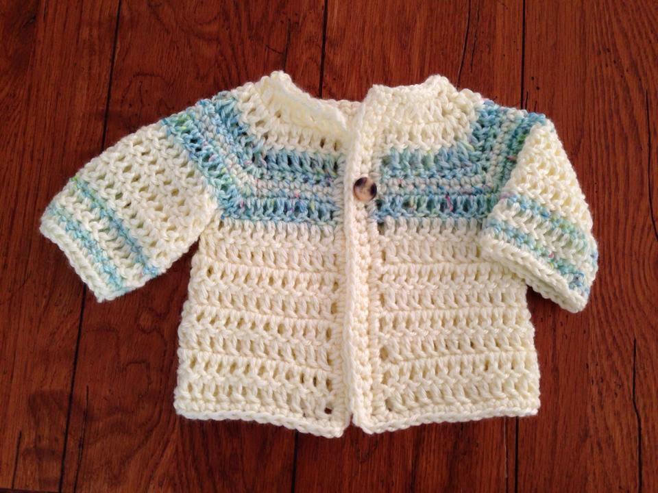 Free Crochet Pattern Boy Sweater