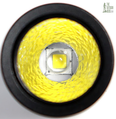 Thrunite Ti5 LED EDC Flashlight - Emitter Closeup