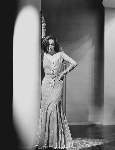 "Joan Crawford in Publicity Photo for ""Dancing Lady"" 1933 Dress by Adrian"