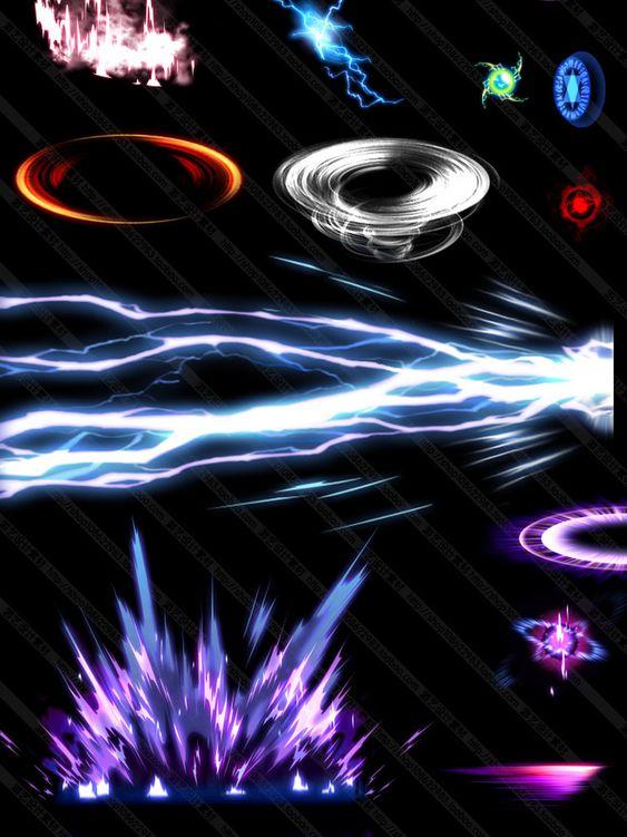 Referensi Ledakan Energi Super Keren untuk Komik Action Fantasi