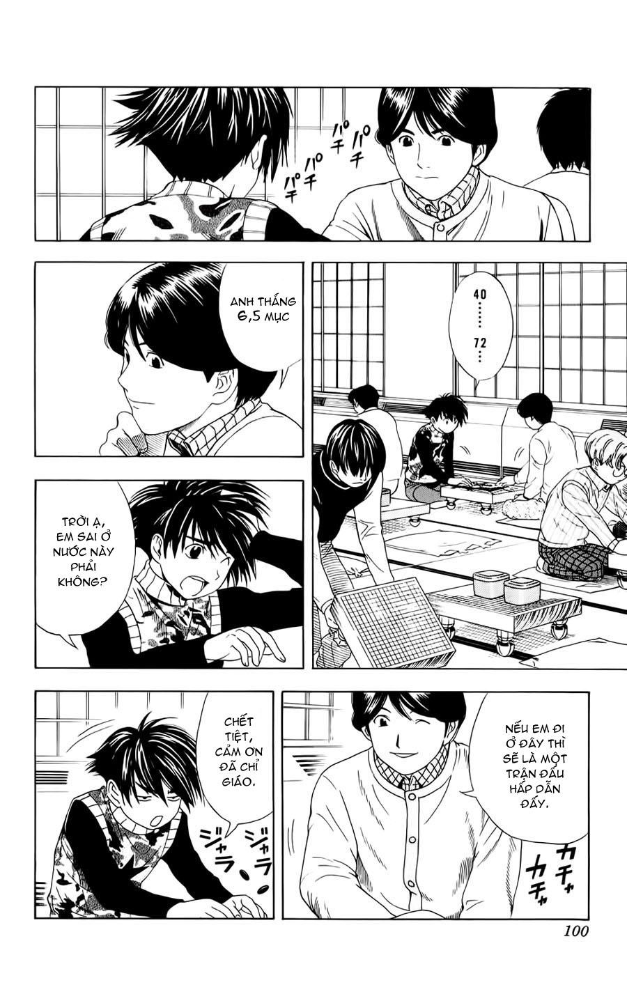 Hikaru No Go hikaru no go chap 48 trang 10