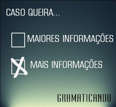 db29b02cad3 Blog do Gramaticando - Gramática Online  MAIORES INFORMAÇÕES ou MAIS ...