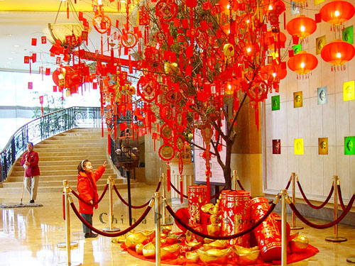 Chinese New Year Decorations Ideas Car Interior Design & Chinese New Year Decorations Ideas - Elitflat