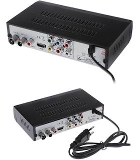 DECODER RICEVITORE DITITALE TERRESTRE DVB-T2 HDTV HDMI