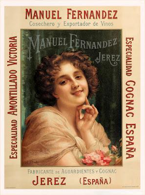 MANUEL FERNÁNDEZ - JEREZ  - Cosechero y exportador de vinos - Hacia 1910 - Adolphe Piot