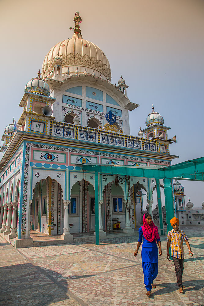 Gurudwara Bindrakh Sahib - a Sikh pilgrimage in Punjab, India