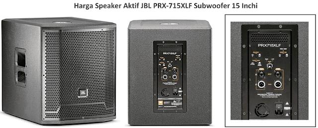 Harga Speaker JBL PRX-715XLF Subwoofer