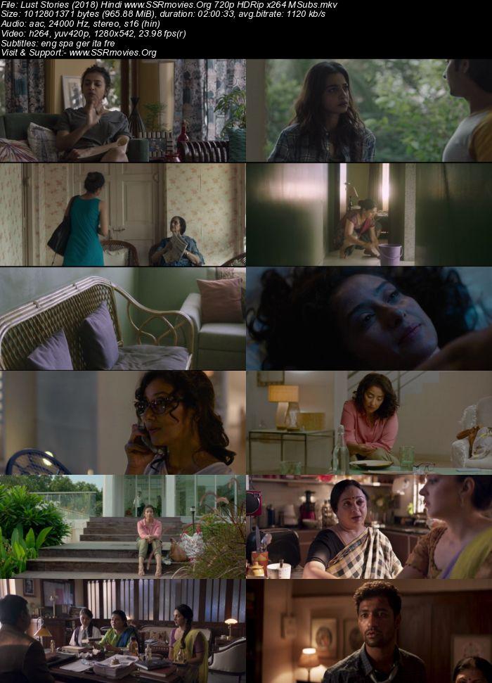 Lust Stories (2018) Hindi 720p HDRip