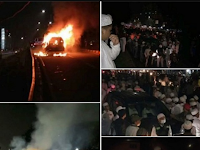 Alhamdulillah, Habib Rizieq Shihab Selamat dari Aksi Teror Ledakan Dua Mobil Saat Ceramah di Jakarta