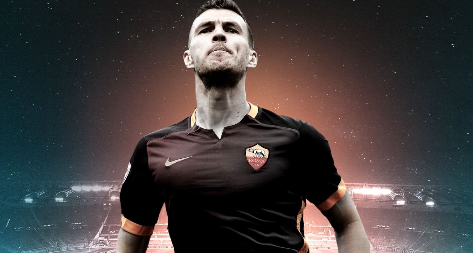 Pemain AS Roma Sambut Bagus Pembaruan Kesepakatan Kontrak Edin Dzeko