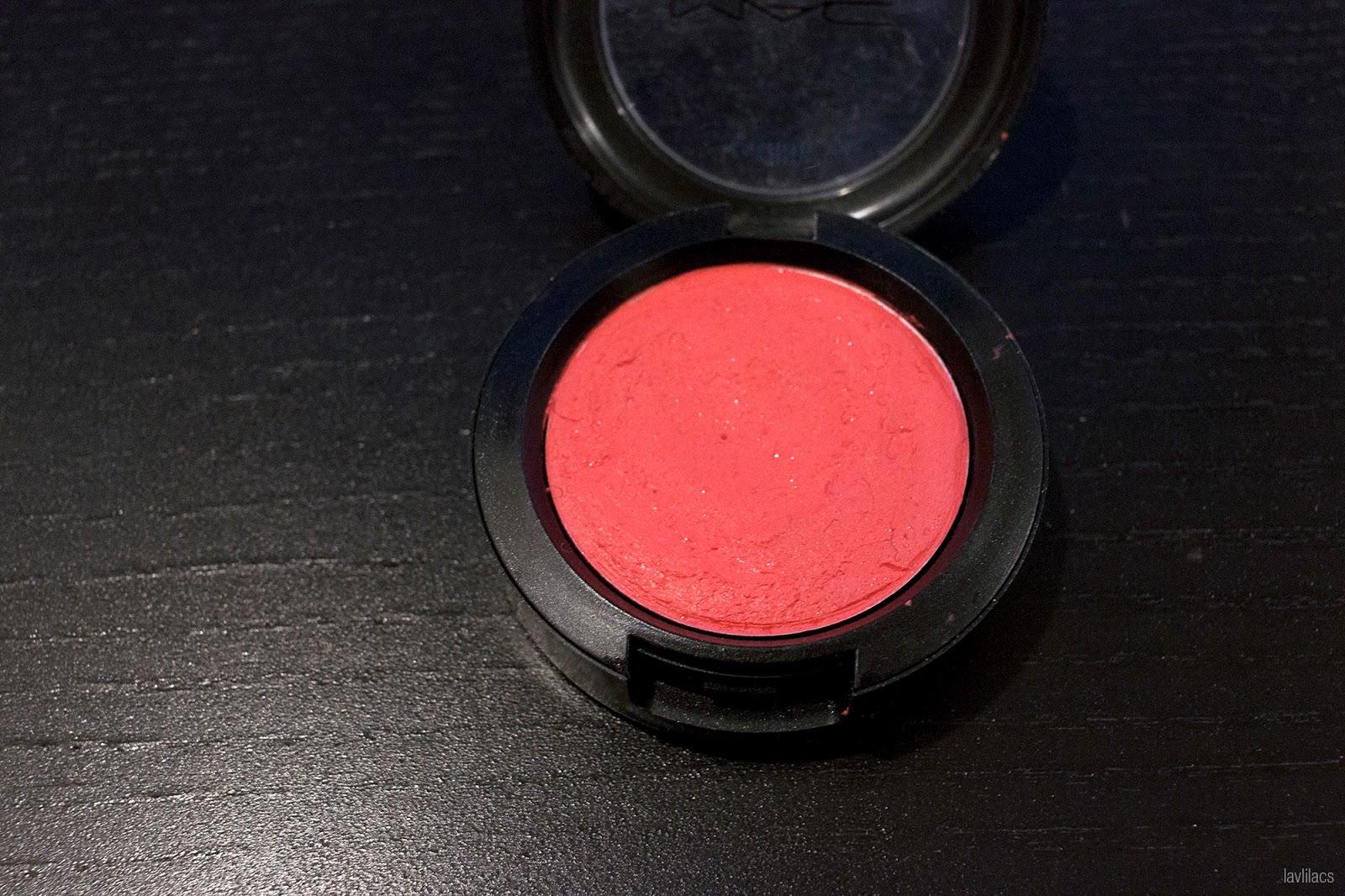 MAC, MAC Cream Colour Base, Virgin Isle, cream blush end results