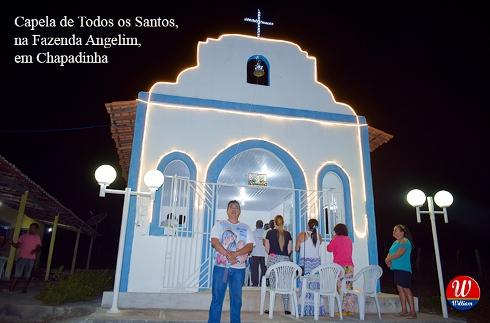 """Família Marques convida para """"programação especial"""" da capela de todos os santos"""