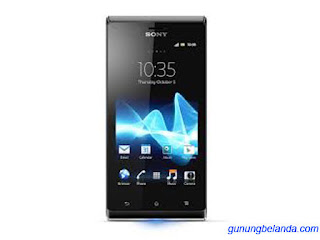Cara Flashing Sony Xperia J ST26a