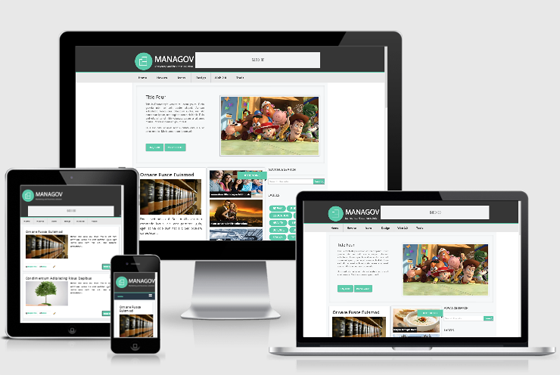 Managov Template Blogger Seo Friendly Responsive | Nora Template