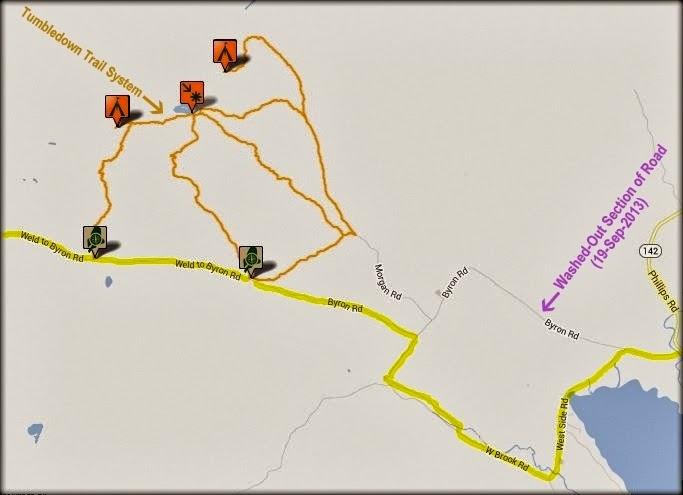 1happyhiker A Terrific Trek In The Tumbledown Mountain Region Of Maine