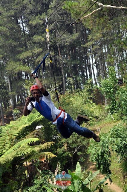 High Rope Bandung Menegangkan