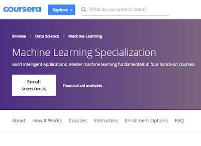 best course to learn machine learning in coursera