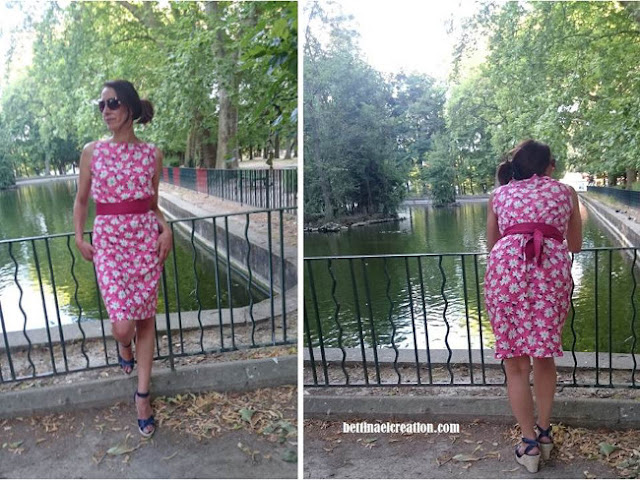 diy une robe sans patron tutoriel gratuit bettinael passion couture made in france