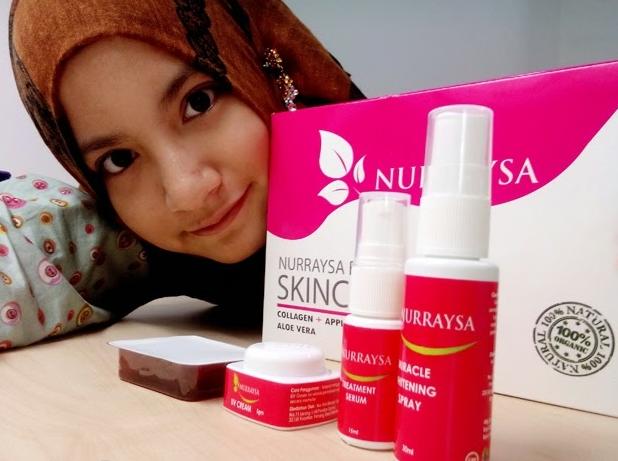 nurraysa beauty skincare agent