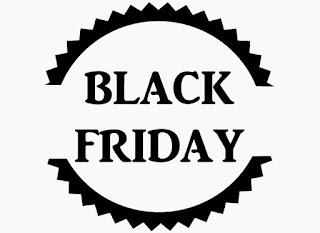 Sticker autocollant Black Friday