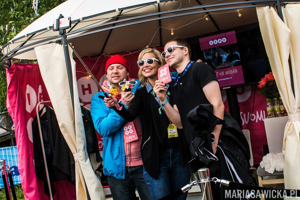 selfie Provinssi Festivaali 2015 Seinäjoki