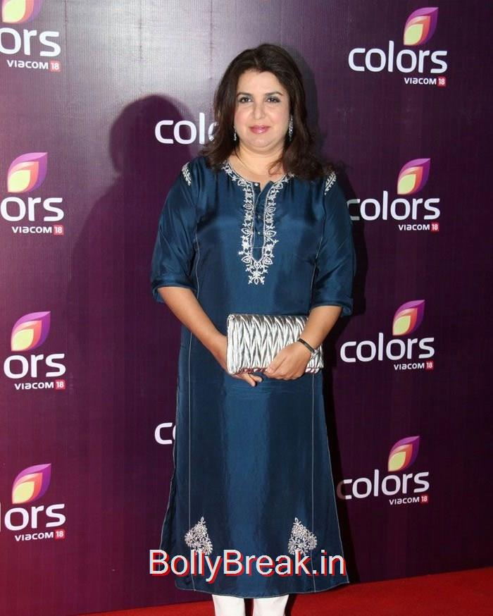 Farah Khan, Lauren Gotlieb Sonali Kulkarni Urvashi Rautela Hot Pics At Colors Leadership Awards 2015