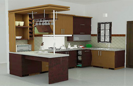 Desain Dapur Minimalis  Modern Idaman
