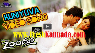 Zoom Kannada Movie Kuniyuva Full Video Song Download