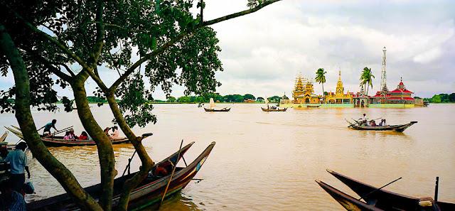 Irrawaddy River Delta at Syriam