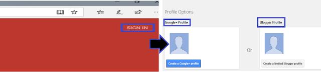 Create Blog account