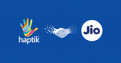 Reliance jio Digital tie up with Haptik for AI