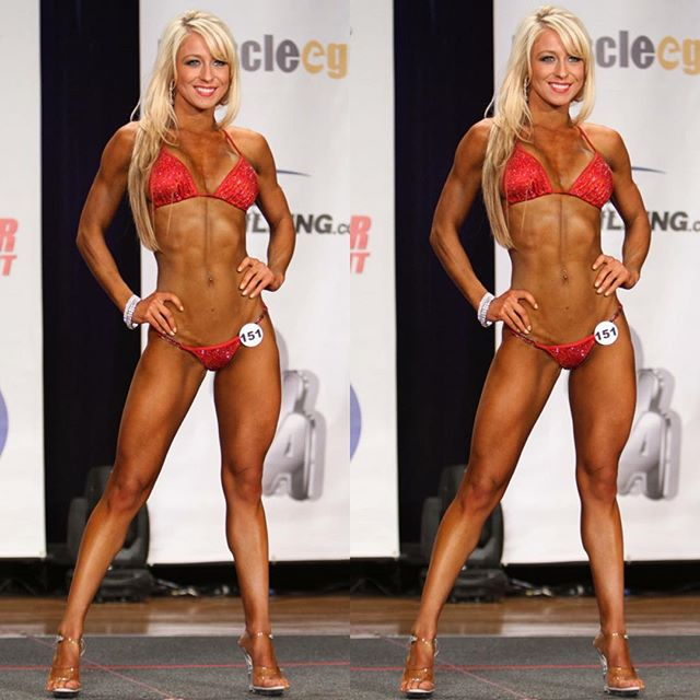 Fitness athlete Candice Perfect Instagram photos