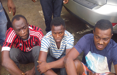 pickpockets arrested mile 2 lagos