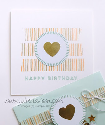 June 2016 Banner Surprise Paper Pumpkin Kit Alternative Project Idea by Julie Davison #stampinup #paperpumpkin www.juliedavison.com