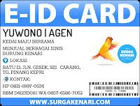 AGEN - Tanjung Pinang, KEPRI - SurgaKenari