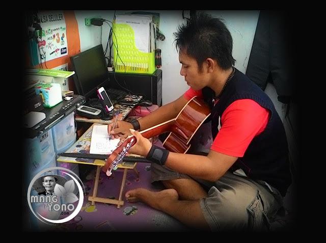 Mang Boy sang drumer dan pencipta lagu dari Selatan Band, Subang