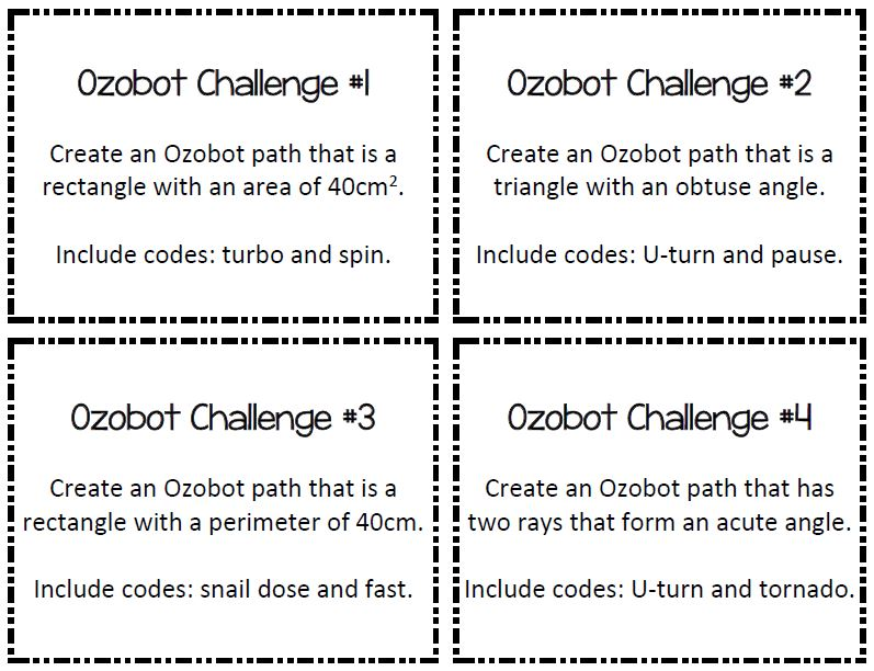photograph relating to Ozobot Printable referred to as Mrs. Richardsons Adventures within just Math Cl: Could 2018