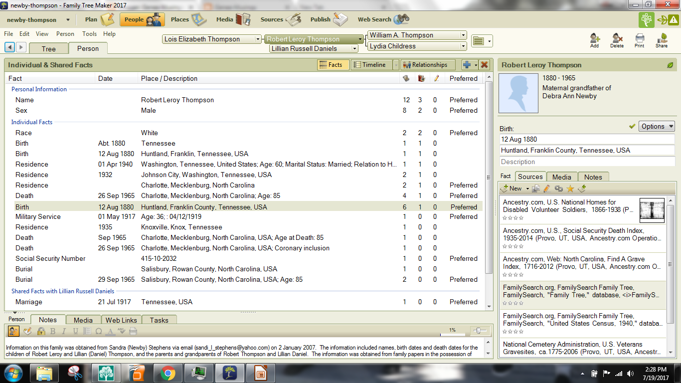 Genea-Musings: Checking Out FamilySearch Web Search Feature