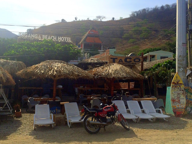 Taganga Beach Hotel, a good hotel on the beach in Taganga, Colombia