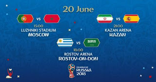 Jadwal Piala Dunia Rabu 20 Juni 2018 - Siaran Langsung TransTV