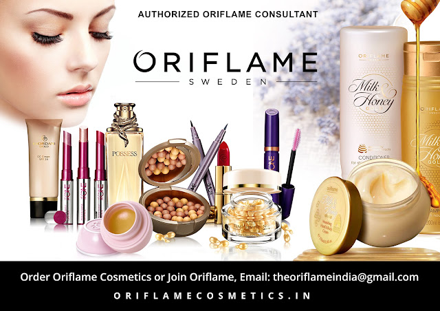 buy any Oriflame Cosmetics or to join Oriflame